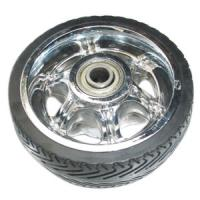 Buy cheap 5 inch solid rubber wheels from wholesalers
