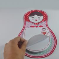 China China supplier custom OEM logo magnetic fridge writing memo pad with magnet board on sale
