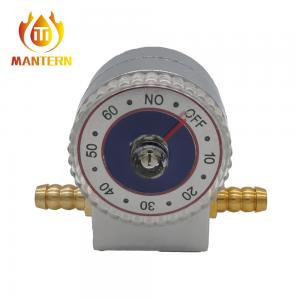 Quality Audio Alarm Timer Natural Gas LPG Shut Off Valve for sale