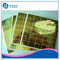 Quality Laser Hologram Sticker For Mobile Phone , Stationery Anti Tamper Stickers for sale