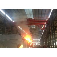 China Casting Steel Mill Double Girder Overhead Crane 30 Ton High Work Efficiency on sale