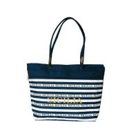 China Polyester Personalized Tote Bags / Tote Bag Souvenir With Front Zipper Pocket on sale