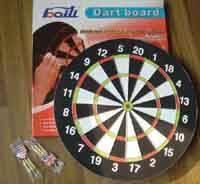 China dart/flocked dartboard/paper dartboard on sale