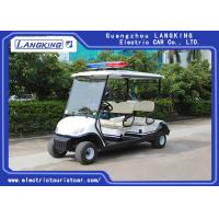 Quality Four Person Electric Golf Buggy With Free Maintain Acid Battery / Mini Electric Golf Cart for sale