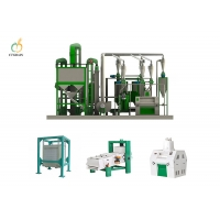 Quality All Purpose 20TPD Flour Mill Machinery maize milling machine for sale