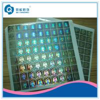 Quality 3D hologram sticker , Rainbow Custom Hologram Stickers , anti-counterfeiting hologram sticker for sale
