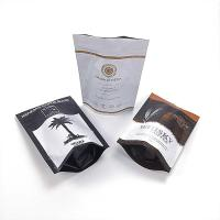 Quality Stand Up Aluminium Foil Pouch , Durable Custom Printing Coffee Bag With Zipper for sale