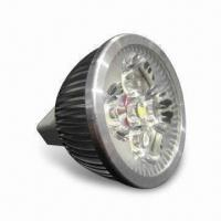 Quality 4W LED MR16 Bulb with High-power Light Output, 140lm Lumens and 12V DC Voltage for sale