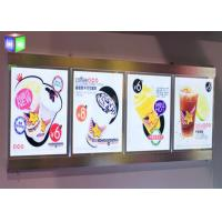 Quality Magnetic Crystal LED Light Box , Wall Mounted Lightbox With Aluminum Frame for sale