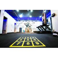 Quality Eco Friendly Rubber Gym Mats Anti Pressure Custom Color 400x400x20mm for sale