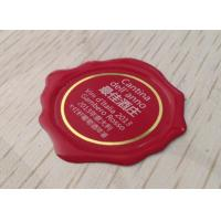 China Transparent Epoxy Resin Stickers for Wine / Perfume Concave Bottles on sale