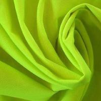 China Poly-cotton Interwoven High-visibility Fluorescent Fabric, Used for Highway/Cleaner Workwear  on sale