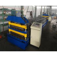 China Non Stop Cutting Aluminium Roofing Sheet Roll Forming Machine 380V on sale