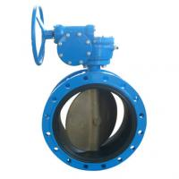Quality Flanged EPDM/PTFE Lined Butterfly Valve for sale
