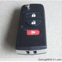 Quality Nissan 3button flip key shell for sale