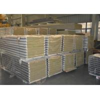 Quality Rock wool board sealed with hidden screw sandwich panel for warehouse for sale