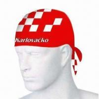 Quality Bandana Hat with Space for Customized Logos and Designs, Cool and Comfortable, Made of 100% Cotton for sale