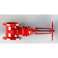 Buy cheap Red Epoxy Coated Handwheel Operated High Grade Rubber Available from wholesalers