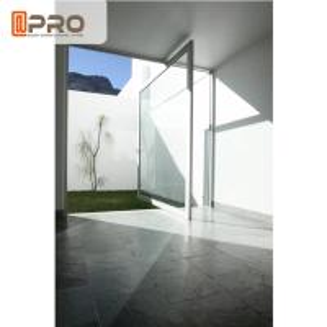 China OEM Water - Proof Aluminum Pivot Doors For Hotel / Office / Villa pivot hinge door interior pivot doors hinge pivot door on sale