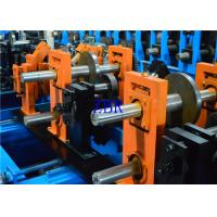 Quality 1.2MM - 3MM Q195-235 Blue Z C Purlin Forming Machine With 17 Forming Roller for sale