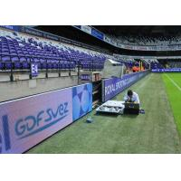 Quality Stadium Perimeter Sports Perimeter LED Display P8/P10 HD For Events Advertising for sale