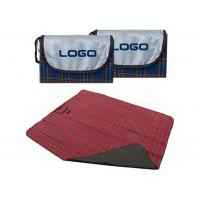 Buy cheap Folding Beach Blanket Large Waterproof Picnic Rug with Stripes Printed from wholesalers