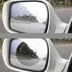 Quality Clear Anti Fog Mirror FilmRoll , Hydrophobic Mirror Cling Window Film for sale