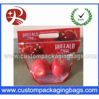 Buy cheap Resealable Plastic OPP Fruit Packaging Bags / Grape Bag / Cherry Bag from wholesalers
