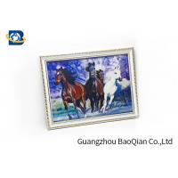 Bedroom Decoration 3D Lenticular Photography / Image Pictures PET / PP Material