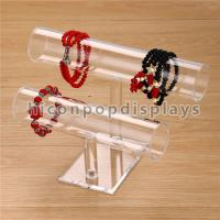 Quality Acrylic Counter Display Racks Custom Size Watch Bracelet Display Stand For Shops for sale