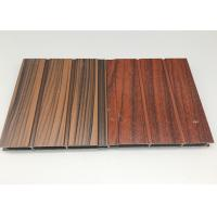 Quality High Strength Rectangular Wood Finish Aluminium Profiles Oxidation Resistance for sale