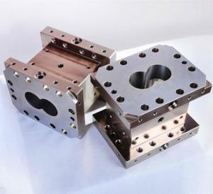 WR13 WR14 Material Extruder Screws And Barrels Φ125mm Hole Diameter JN-125
