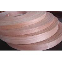Buy cheap Sliced Cut Plywood Edge Banding Okoume Wood Veneer Rolls Natural from Wholesalers