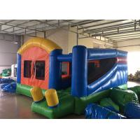 Quality Backyard Inflatable Bounce House Combo Kids Home Small Jumping House With Slide for sale