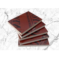 China Poplar Core Red Film Faced Plywood For Building Model on sale