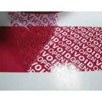 Quality PARTIAL TRANSER SECURITY LABELS AND TAPE for sale
