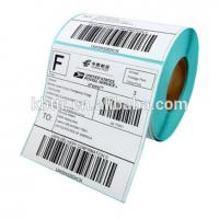 Quality Printed material Vinyl PVC PET direct thermal paper  102mm*102mm compatible for zebra barcode thermal printer for sale