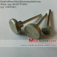 Buy cheap Diamond Mounted Points & Diamond Burs for spray coating from wholesalers
