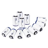 Quality CR2 3V Lithium Primary Cell Battery 800mah with Battery Storage Case 4 Packs for sale