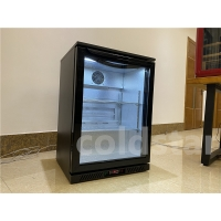 Quality 145L One Door Stainless Steel Back Bar Cooler for sale