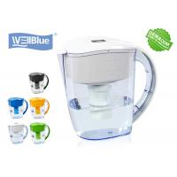 Quality BPA Free Plastic Alkaline Well Blue Water Filter Pitcher 3.5L Multi Colored Available for sale