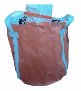 Quality Custom Flexible PP FIBC Jumbo Bags Packing Bulk Cement / Chemical Raw Material for sale