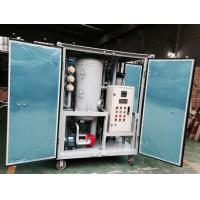 Quality ZJA Series High Vacuum Oil Filtering Machine, Transformer Oil Filters for sale