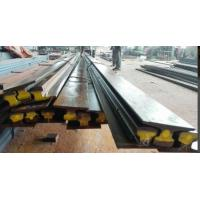China A75 Type Safety Steel Crane Rail For Overhead Crane , 75 mm Head Width 45 mm Web Thick on sale