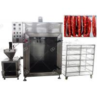 Quality CE Passed Meat Sausage Smoking Machine Automatic Fish Smoke Oven 50KG / H for sale