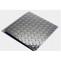 Quality 5754 Aluminum tread checkered plate for vehicle steps for sale