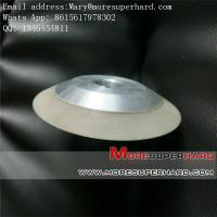 Quality 12V2 dish shape resin bond diamond grinding wheel for tungsten carbide or non-metal materi for sale