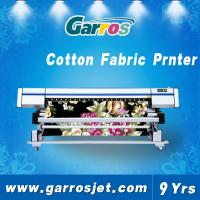 Quality 100% cotton printing fabric directly textile roll to roll printer for sale