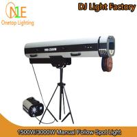 Buy cheap Stage Light 1500W&3000W Manual Follow Spot Light DJ Light Factory from Wholesalers