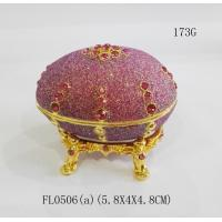 Jewelry box Faberge egg party favors easter egg trinket box hinges for jewelry box